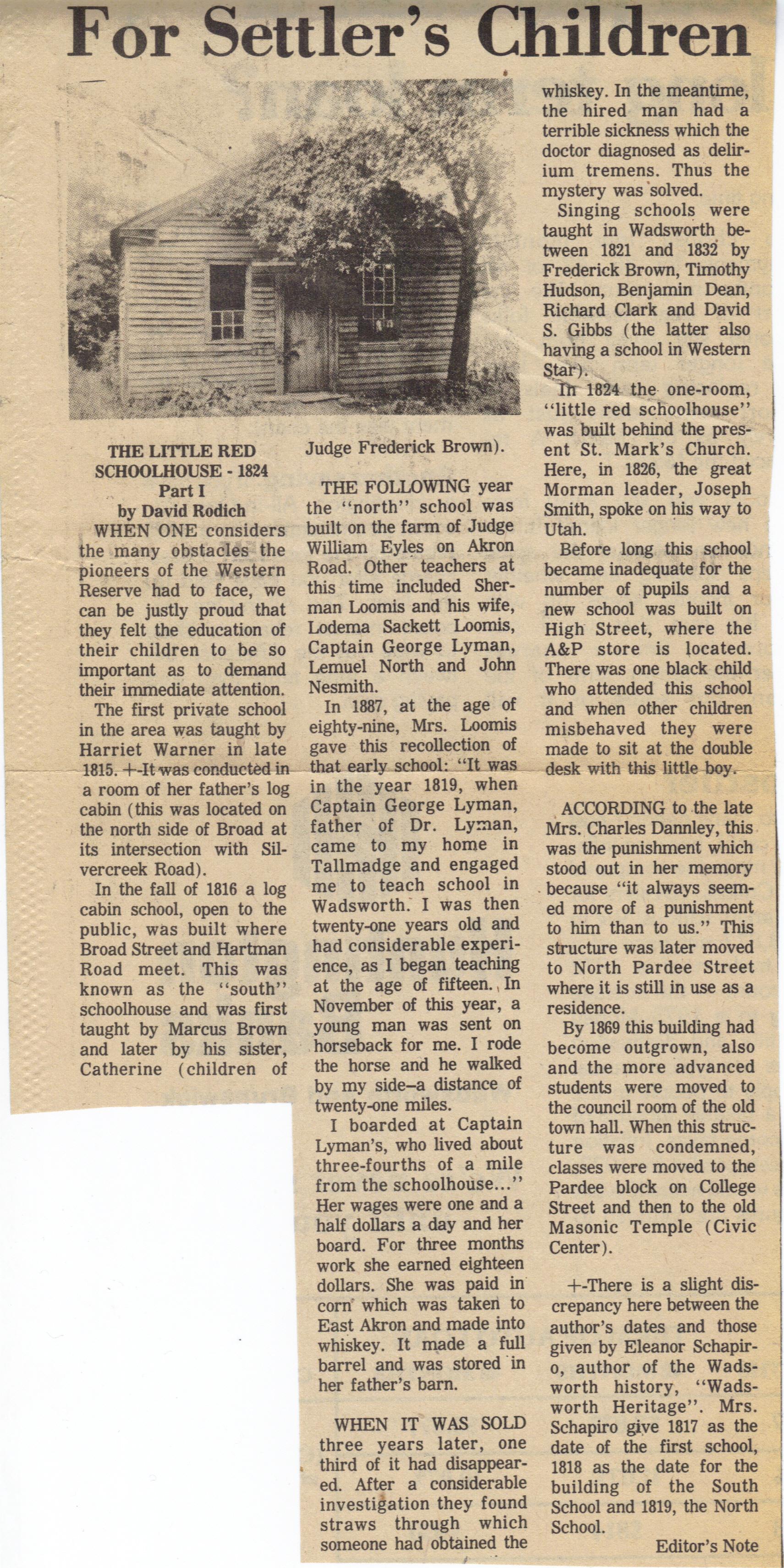Figure 3: Original Newspaper Story