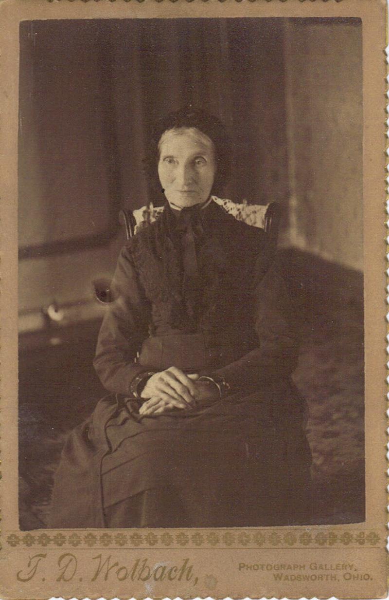 Figure 1: Lodema Sackett picture